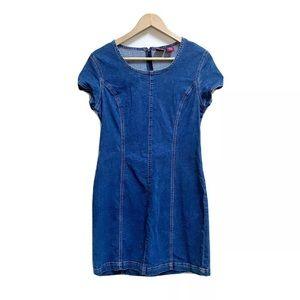 Gap Blue Jeans Vintage 90's Blue Jean Denim Dress